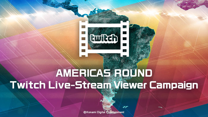 PES LEAGUE WORLD TOUR 2018 AMERICAS ROUND Twitch Live-Stream Viewer Campaign